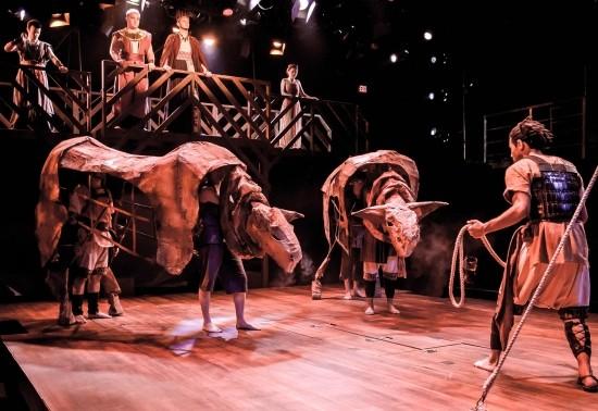School of Theatre dress rehearsal of Argonautica.