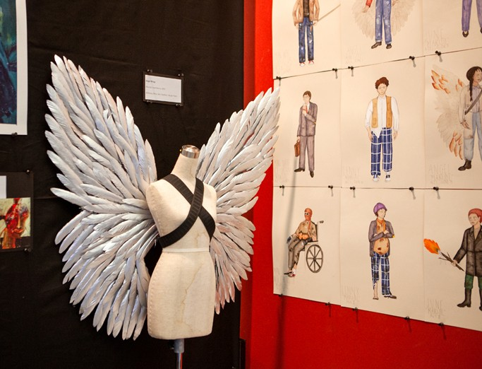 Exhibition of various costume, prop, and scenic design works created by students in the M.F.A. Design and Technology.