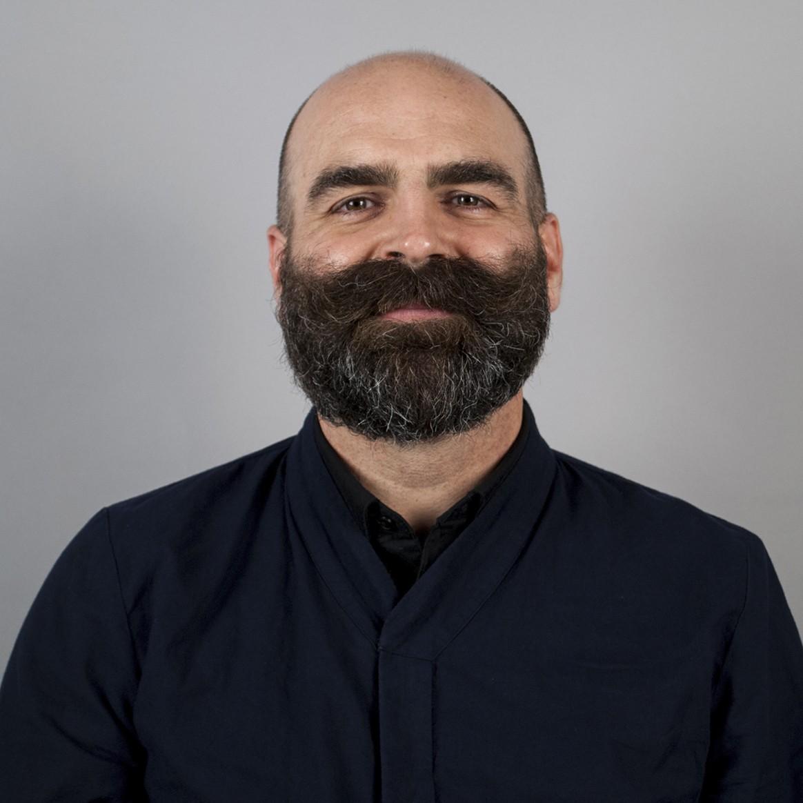 Head shot of Tenured Penn State Department of Architecture Associate Professor Marcus Shaffer