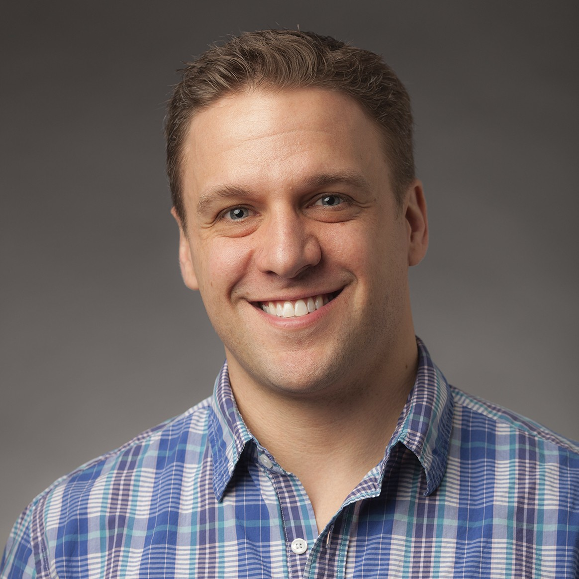 Headshot of Penn State Associate Professor of Graphic Design Ryan Russell