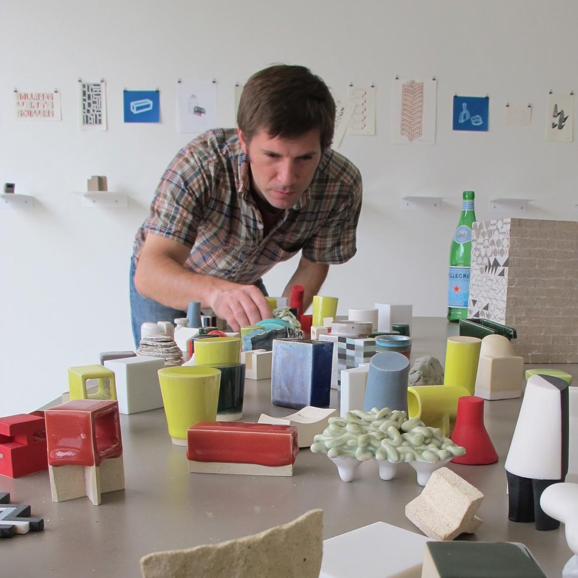 Headshot of Penn State Assistant Professor of Art Tom Lauerman