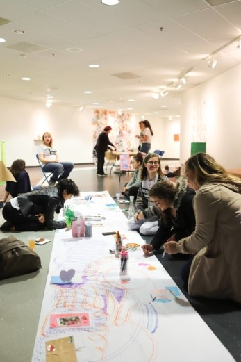 event at Woskob Family Gallery