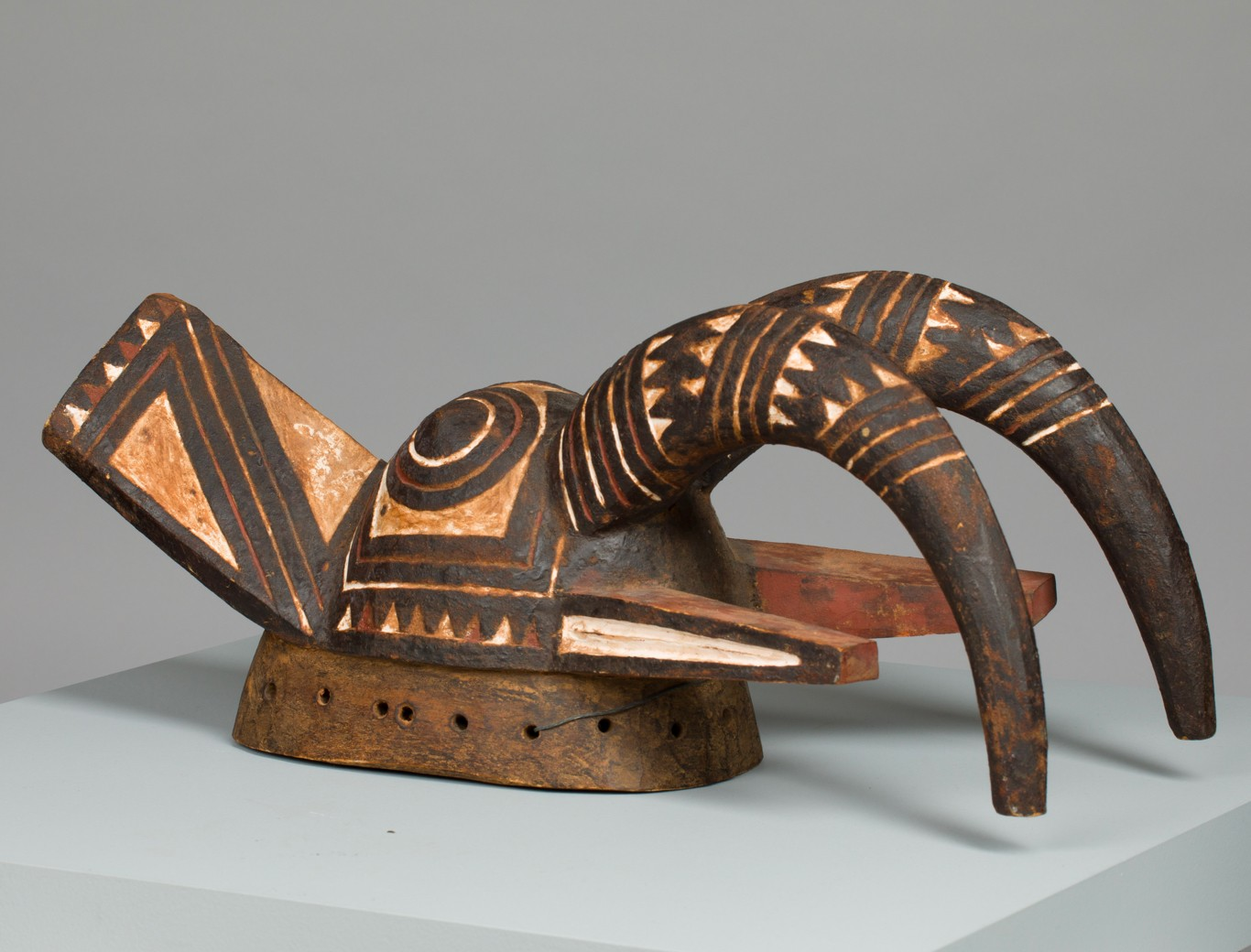 Koan Mask, by the Nuna (Nunama) of Burkina Faso. Part of the Palmer Museum's African Brilliance collection catalogued by the VRC.