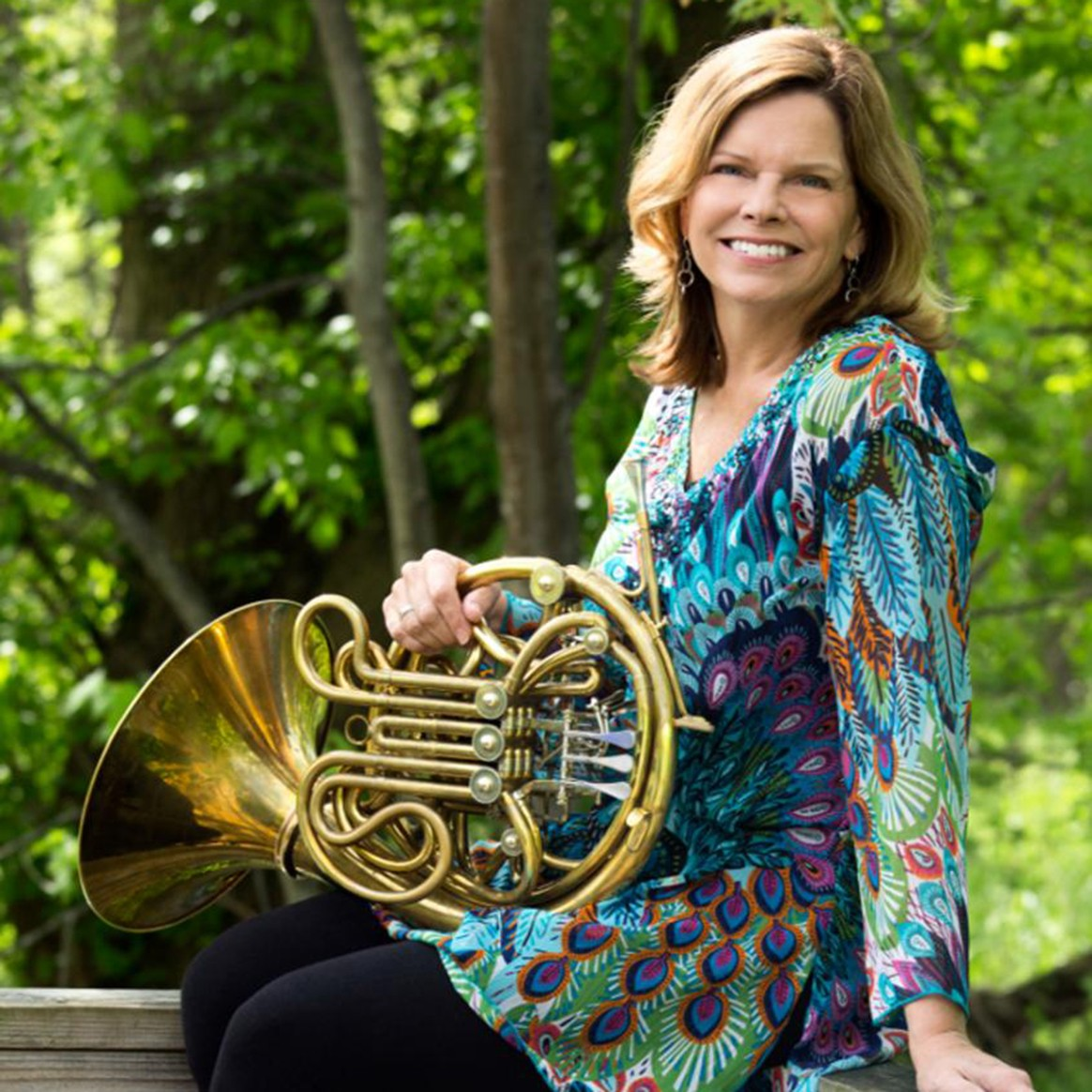 Headshot of Penn State Horn Instructor Lisa Bontrager