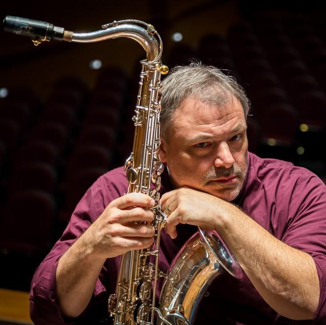 Headshot of Penn State Professor of Saxophone David Stambler