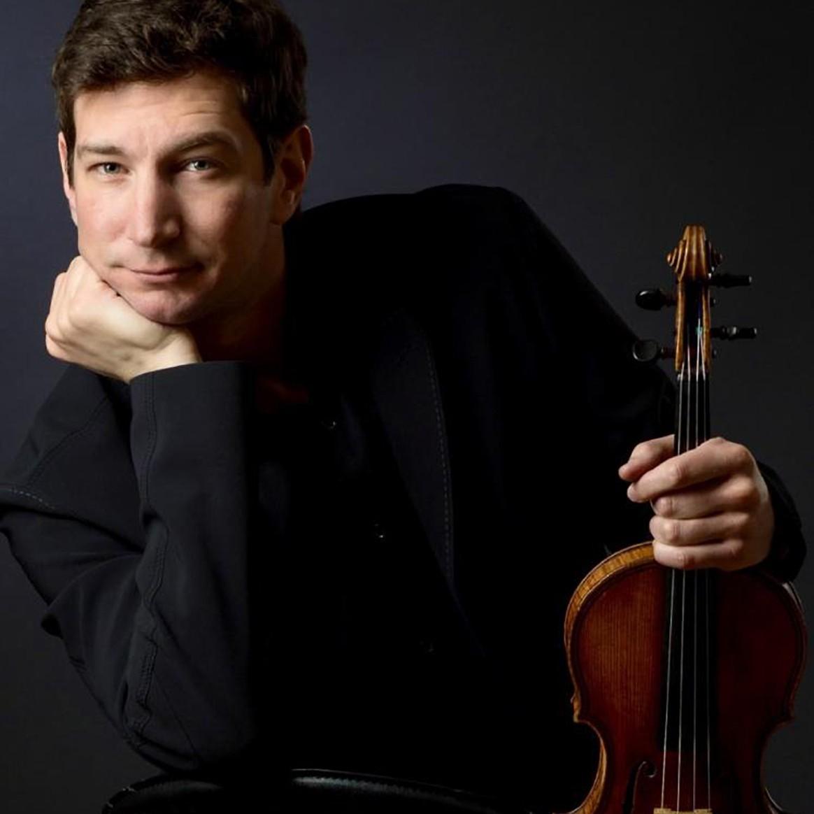 Headshot of Penn State Associate Professor of Violin Max Zorin