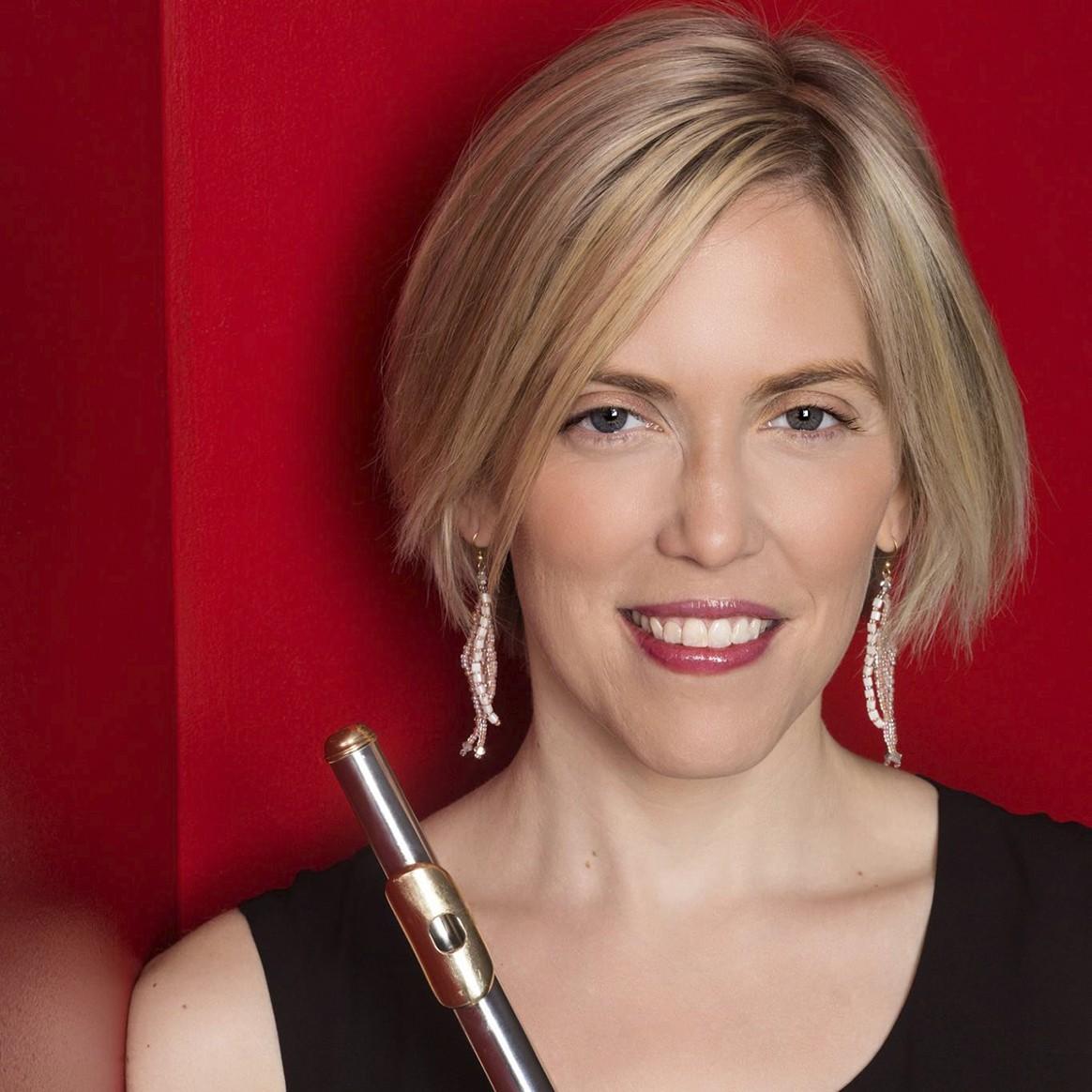 Headshot of Penn State Associate Professor of flute Naomi Seidman
