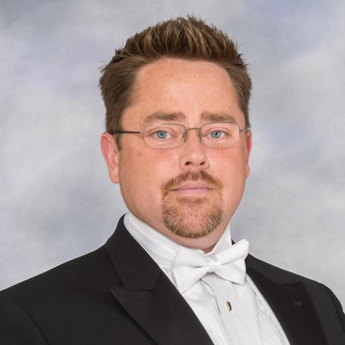 Headshot of Penn State Assistant Director of Athletic Bands Robert Hickey