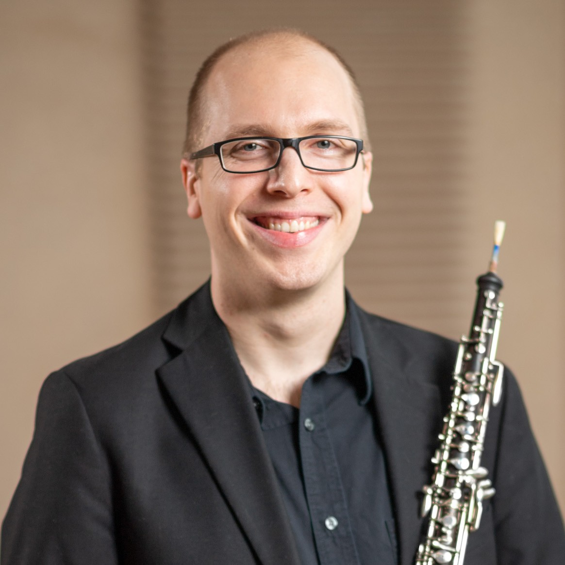 Headshot of Andreas Oeste, Lecturer of Music, Oboe
