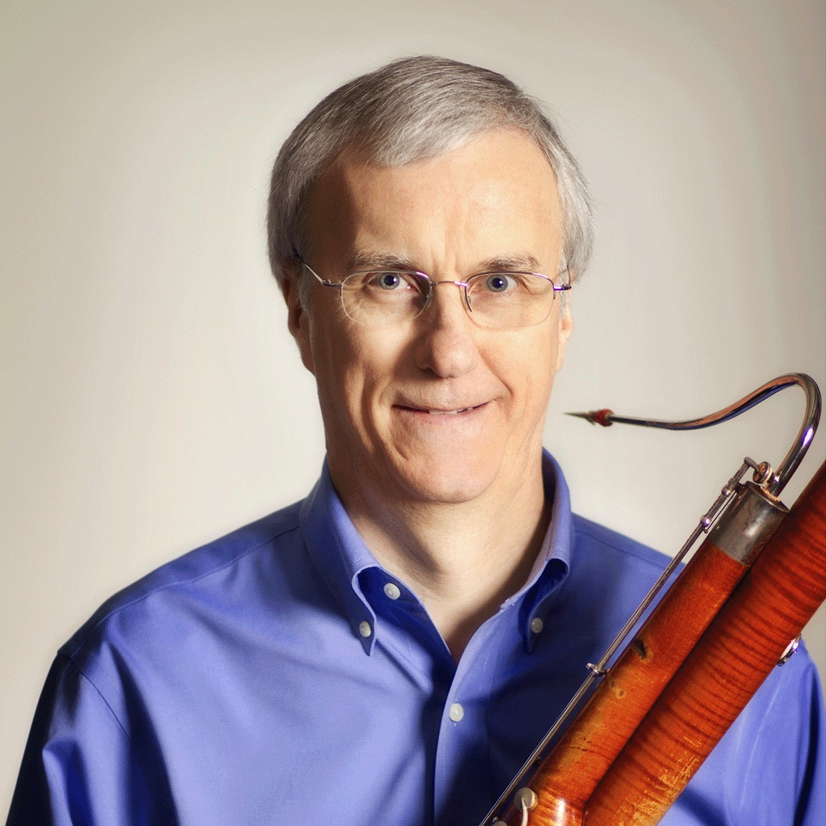 Headshot of Penn State School of Music bassoon professor Daryl Duran