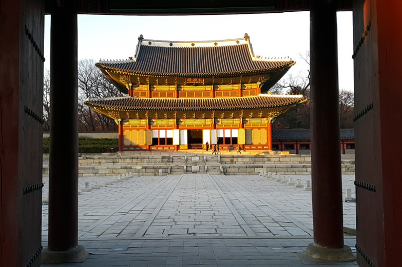 Architectural building landscape in East Asia.