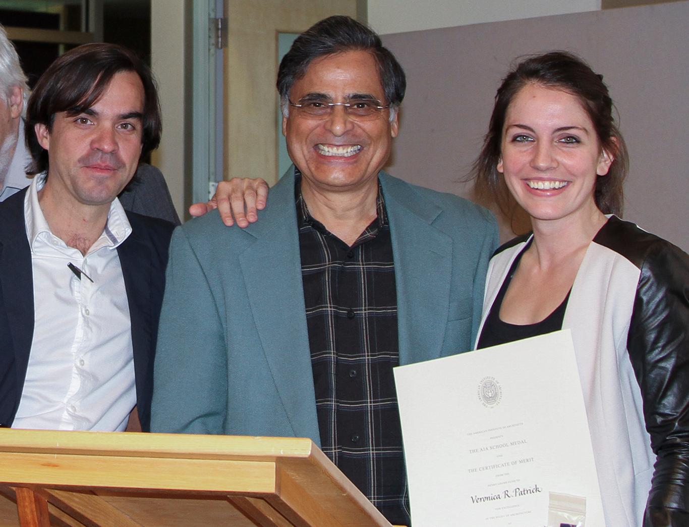 Juan Ruescas, Jawaid Haider, and Veronica Patrick