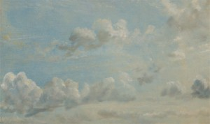 John Constable, 1776–1837, British, Cloud Study, 1822, Oil on paper laid on panel, Yale Center for British Art, Paul Mellon Collection, B1981.25.116