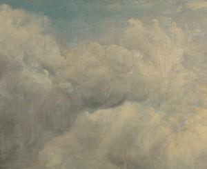 John Constable, 1776–1837, British, Cloud Study, ca. 1821, Oil on canvas, Yale Center for British Art, Paul Mellon Collection, B1981.25.136
