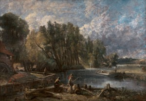 John Constable, 1776–1837, British, Stratford Mill, 1819 to 1820, Oil on canvas, Yale Center for British Art, Paul Mellon Fund, B1983.18