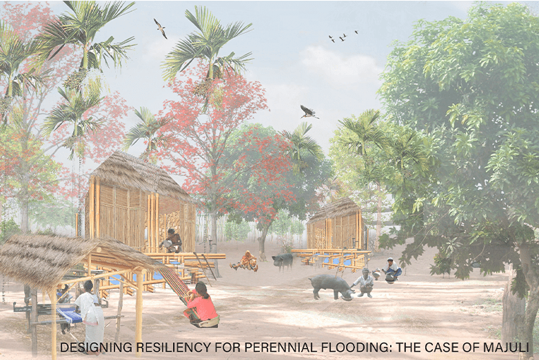 Excerpted rendering from Darshika Agrawal's 2021 award-winning project.