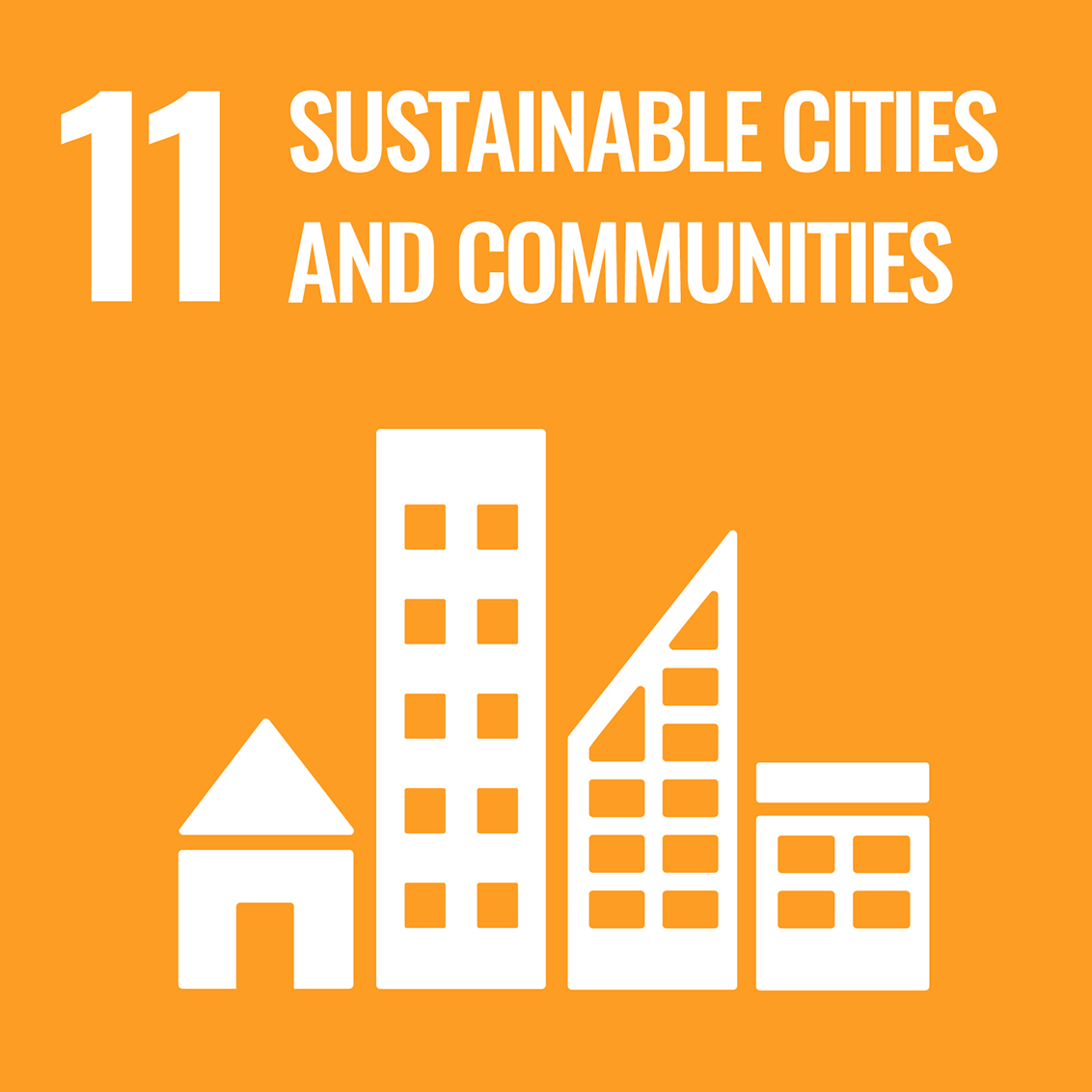 Icon for the UN Sustainable Development Goal 11