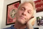 """Video screen capture of Patrick Fabian, from the Arts and Architecture """"Movers, Shakers, Designers, Makers"""" video interview series."""